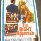 JULIET PROWSE The RIGHT APPROACH Poster MARTHA HYER '61