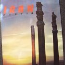 IRAN  Middle East PERSIA Travel TOURISM Poster APADANA