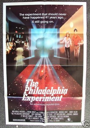MICHAEL PARE Nancy Allen PHILADELPHIA EXPERIMENT Poster
