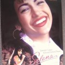 SELENA  Double Side MOVIE Poster JENNIFER LOPEZ   Perez