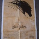 BLACK STALLION Original 1-Sheet POSTER Arabian Horse 79