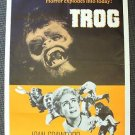 TROG Original 1-Sheet POSTER Last film of JOAN CRAWFORD