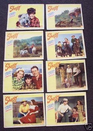 SHAGGY  Lobby Card SET  George Nokes BRENDA JOYCE  1948