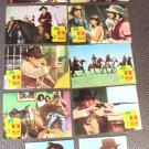 GLENN FORD Original SANTEE Western FOREIGN Lobby Card's