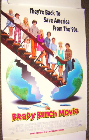 The BRADY BUNCH  Movie ORIGINAL Poster GARY COLE  1995
