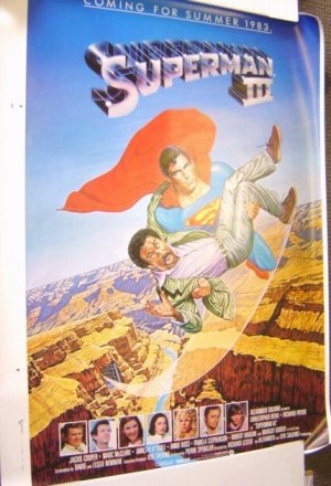 SUPERMAN III  POSTER Richard Pryor  CHRISTOPHER REEVE 3
