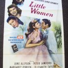 Elizabeth Taylor LITTLE WOMEN Poster  MARGARET O'BRIEN