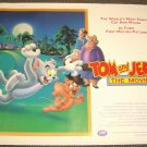 TOM and JERRY The Movie BRITISH QUAD Poster UK Animated