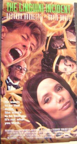 ROSANNA ARQUETTE David Bowie  LINGUINI INCIDENT Poster