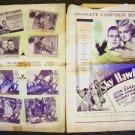 HELEN CHANDLER John Garrick The SKY HAWK Pressbook 1929