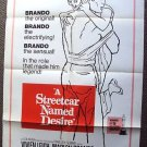 A STREETCAR NAMED DESIRE Poster MARLON BRANDO  1951