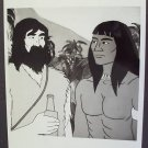 ROBINSON CRUSOE Original HANNA BARBERA Press CBS Photo