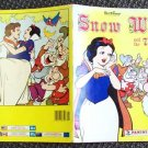 SNOW WHITE  and the SEVEN DWARFS Disney PANINI Booklet