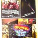 STAR TREK The WRATH OF KAHN Color PHOTO Flyer  ORIGINAL