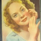 ALICE FAYE Original 1938 Pinup PHOTO Headhsot Page 20th