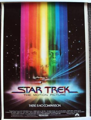 STAR TREK The MOTION Picture Rare SIZE Paramount POSTER