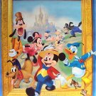 DISNEY Poster MICKEY MOUSE Minnie GOOFY Chip n Dale PIG