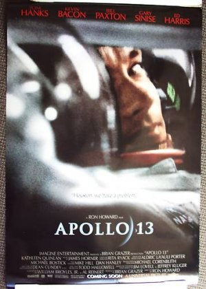 APOLLO 13 Original DOUBLE SIDED Poster TOM HANKS   1995