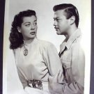 GAIL RUSSELL Original AIR CADET Photo 1954 U.S. A Force
