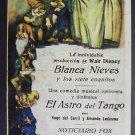 SNOW WHITE Seven Dwarfs 1942 Argentina HERALD Disney 7