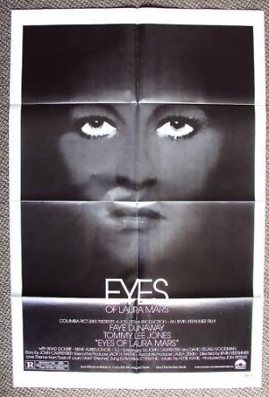 FAYE DUNAWAY Original EYES OF LAURA MARS 1-Sheet POSTER
