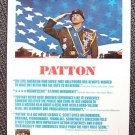 GEORGE C SCOTT Original  PATTON Window Card POSTER 1970