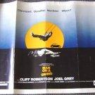 MAN ON A SWING Orig 1/2 Sheet  Poster CLIFF ROBERTON 74