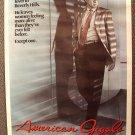 RICHARD GERE Original AMERICAN GIGOLO Movie Poster 1980