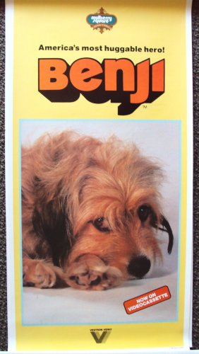 BENJI Original PROMO  Dog  POSTER Joe Camp Classic Film