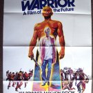 YUL BRYNNER The ULTIMATE WARRIOR Originl 1-Sheet POSTER