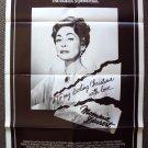 MOMMIE DEAREST Film  POSTER  JOAN CRAWFORD Faye Dunaway