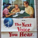 NANCY REGAN James Whitmore NEXT VOICE YOU HEAR Poster