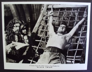 TYRONE POWER The BLACK SWAN Photo LAIRD CREGAR  torture