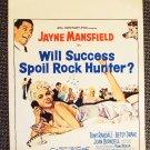 JAYNE MANSFIELD  Will Success Spoil Rock Hunter? POSTER