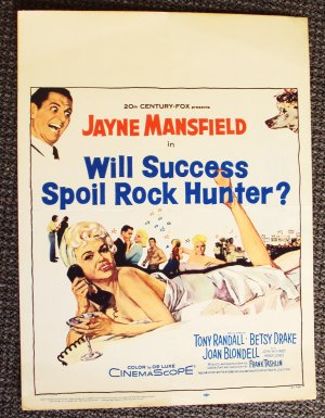 JAYNE MANSFIELD  Will Success Spoil Rock Hunter? POSTER