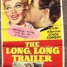 LUCILLE BALL Desi Arnaz LONG TRAILER 3-Sheet  POSTER 53