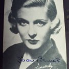 JOAN BENNETT  Original SIGNED n Person AUTOGRAPH  PHOTO
