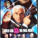 NAKED GUN 33 Poster LESLIE NIELSEN Anna Nicole Smith