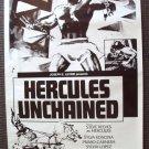 STEVE REEVES Sword & Sandals HERCULES UNCHAINED Poster