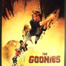 The  GOONIES  Program DREW STRUZAN Art JOSH BROLIN 1985