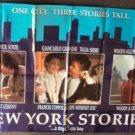 WOODY ALLEN Rosanna Arquette NEW YORK STORIES Banner 89