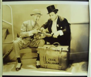 CHARLEY CHASE Original KELLY THE SECOND Hal Roach Studios Photo by STAX  BIG BOY