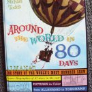 AROUND THE WORLD IN 80 DAYS Photo BOOK  Cantinflas 1958 Jules Verne