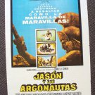 JASON and the ARGONAUTS Spanish Poster RAY HARRYHAUSEN