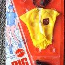 BIG JIM  Mattel  MIP SKIN DIVING Suit OUTFIT For FIGURE