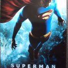 SUPERMAN Returns DOUBLE SIDE Movie POSTER Brandon Routh Original ROLLED