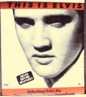 THIS IS ELVIS Original WARNER BROS Movie POSTER Presley promotional