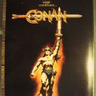 CONAN the BARBARIAN Trade Program ARNOLD SCHWARZENEGGER Given out only Premiere