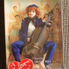 I LOVE LUCY  Mattel BARBIE Doll LUCILLE BALL Cello #6 The AUDITION One Owner MIB