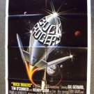 BUCK ROGERS in the 25th Century TEASER 1-sheet Poster GIL GERARD Advance 1979